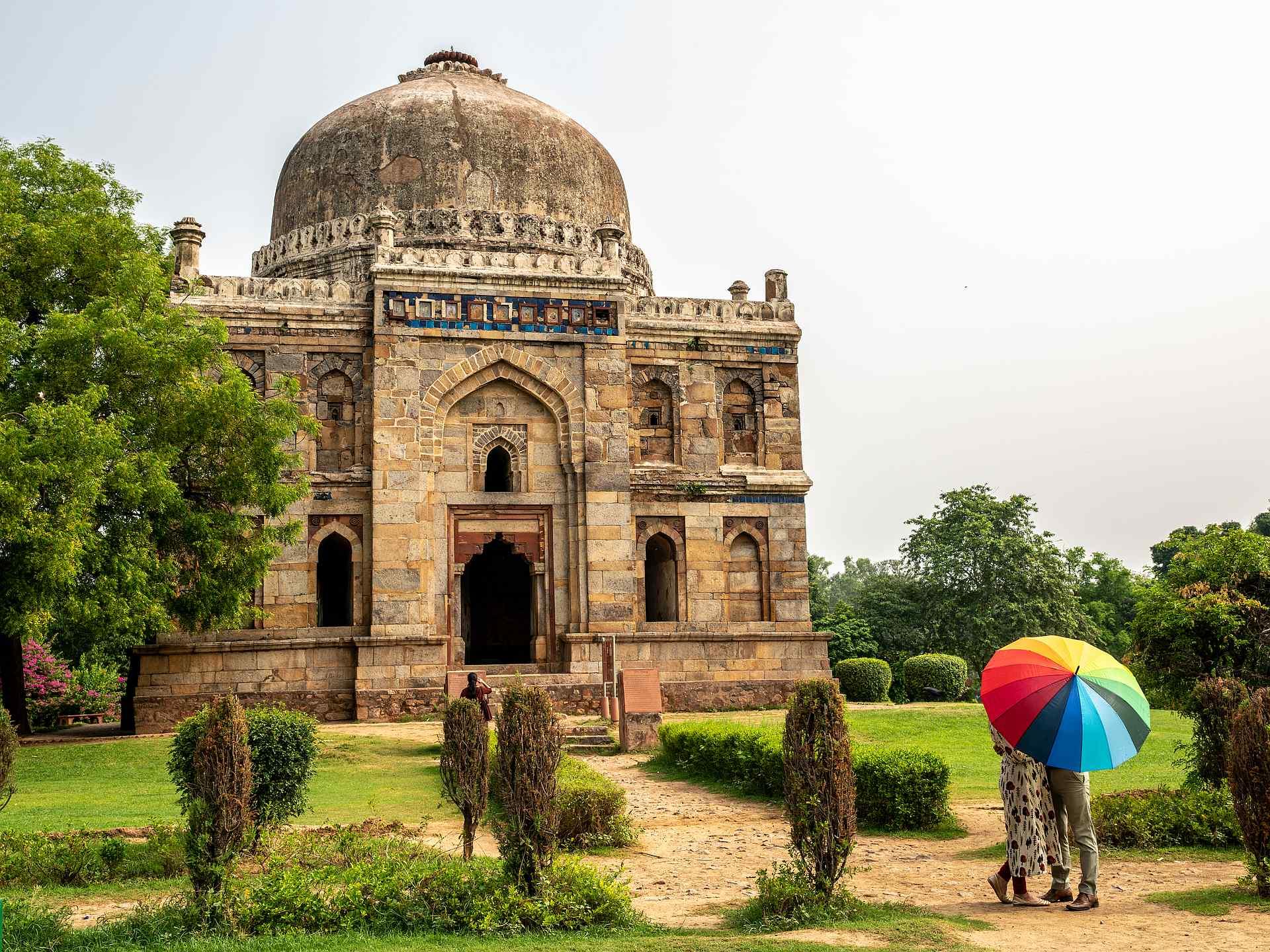 Lodhi Garden en Nueva Delhi
