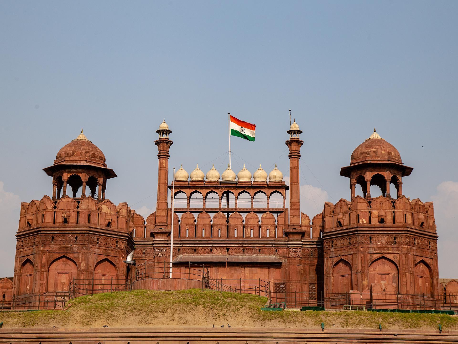 Main entrance to the Red Fort in New Delhi