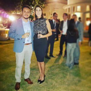 Guilherme Mota y Maria Cristina - Embajada de Brasil en Nueva Delhi, publicado en Viajando Fácil