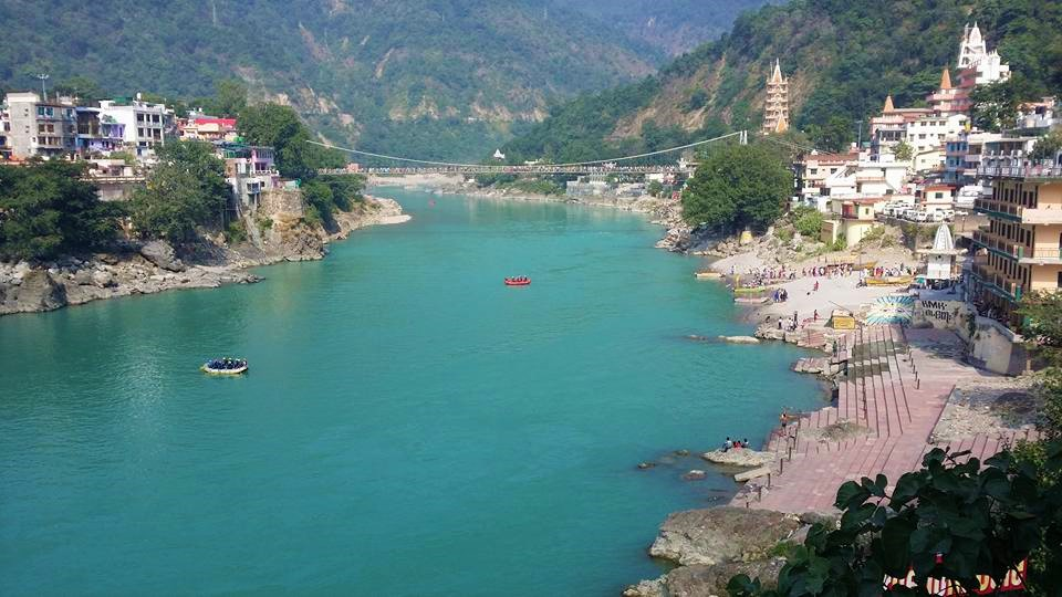 Rafting on the Ganges River