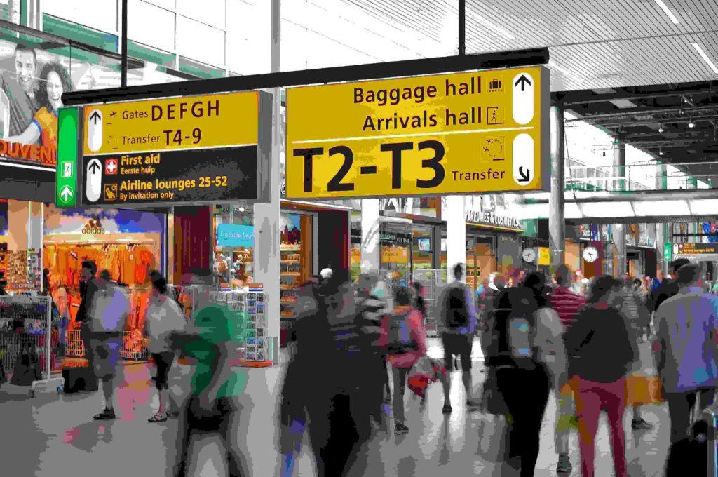 viajar pelo mundo - aeroporto internacional
