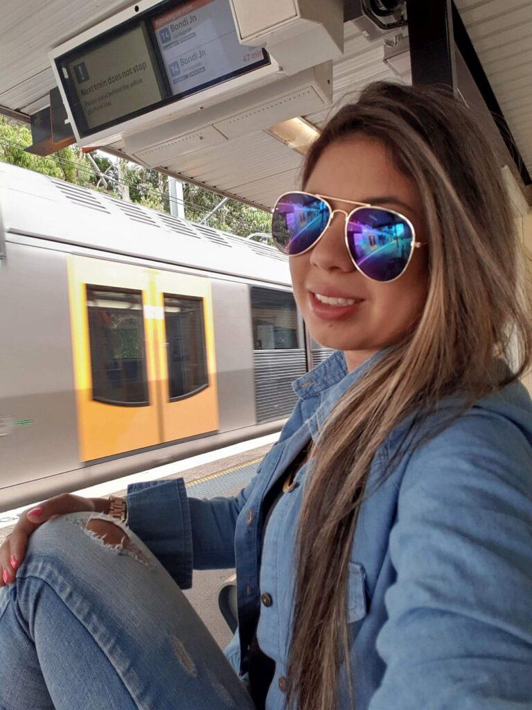 Stephania como Au PAir en Australia en 2017