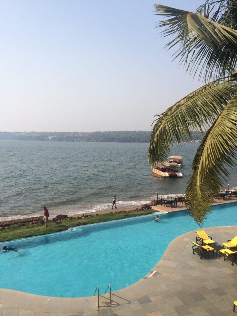 Goa Marriott Pool - Miramar Beach