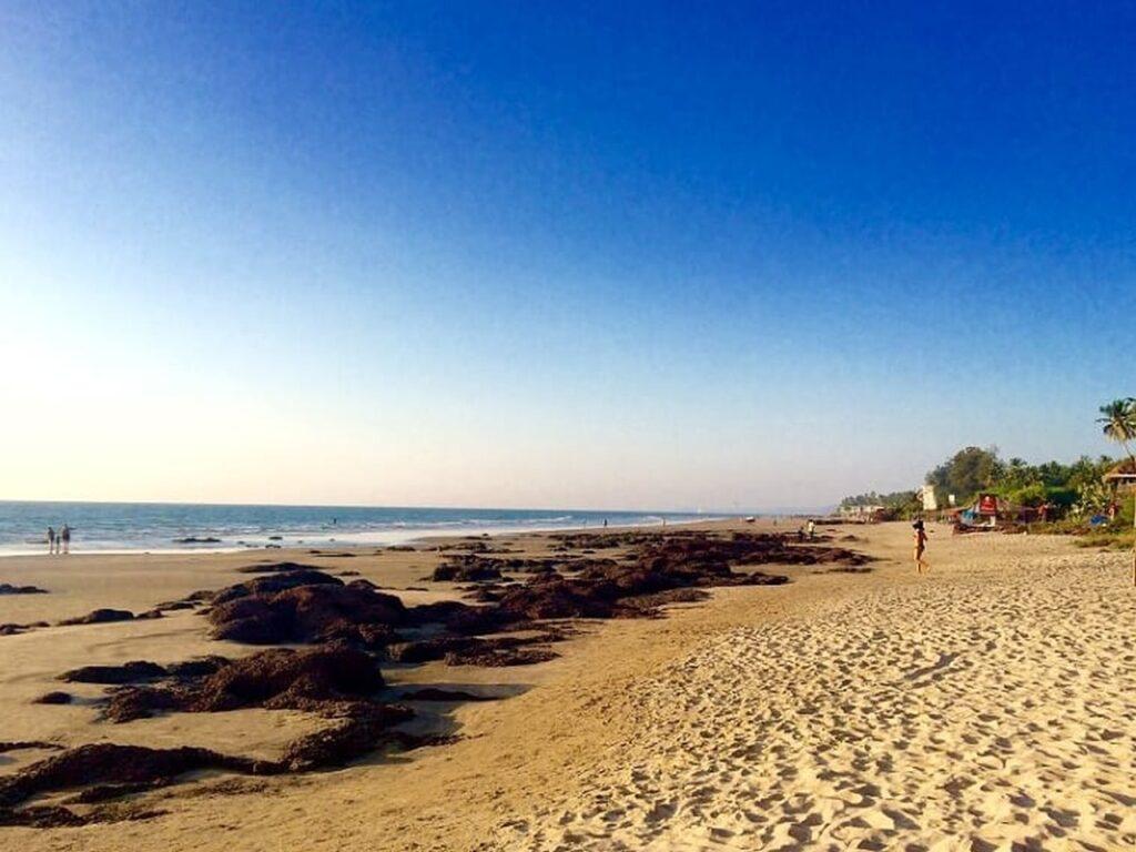 Vagator beach in Goa